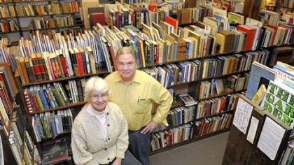 Beverly and Neil Townsend Beverly and Neil Townsend opened Townsend Booksellers in Oakland in 1990. One of the reasons they are closing is the advent of print-on-demand technology that allows companies to make new copies of books that are out of copyright.