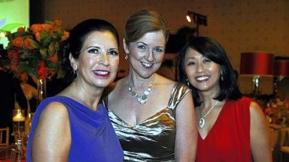 Beverly Wukich, Mary Ellen Wampler and Ruby Kang Gala chairs Beverly Wukich, Mary Ellen Wampler and Ruby Kang.