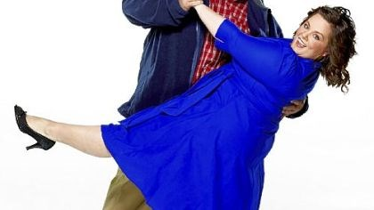"Billy Gardell and Melissa McCarthy Billy Gardell and Melissa McCarthy dance with romance in the new CBS comedy ""Mike & Molly."""