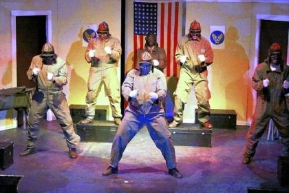 """Black Angels Over Tuskegee"" New Horizon Theater presents ""Black Angels Over Tuskegee,"" about seven men trying to become the first African-American aviators in the U.S. Army Air Forces during World War II, Saturday at the Byham Theater."
