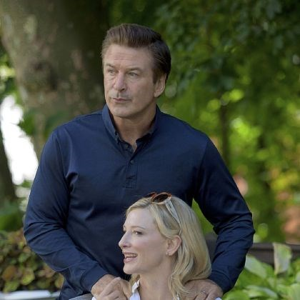 "'Blue Jasmine' Alec Baldwin and Cate Blanchett in ""Blue Jasmine."""