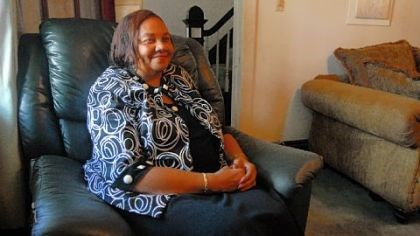 Bonnie Caver Bonnie Caver sits in her East Liberty home. Caver lost her husband 15 years after they were married in 1967, but they had taken out a life insurance policy that was valuable enough to take care of her for the rest of her life.
