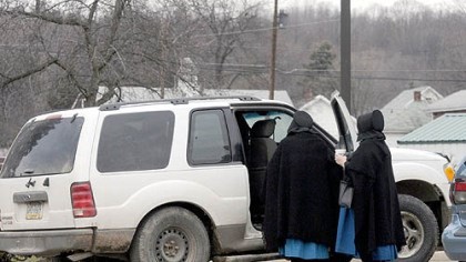 Bonnie's Ladies Bonnie Huzinec, 56, is an outspoken neighbor of Amish families near Luthersburg, Pa., who provides transportation to the Amish families in her area.