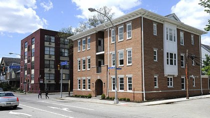 Boulevard Apartments in East Liberty The new Boulevard Apartments at 5801 East Liberty Blvd.