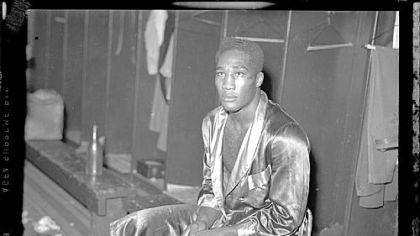 Boxer Harry Bobo, 1941 Boxer Harry Bobo, 1941.