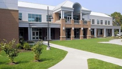Brand new The new School of Business at Robert Morris University.
