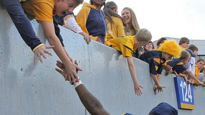 Brandon Hogan West Virginia cornerback Brandon Hogan.