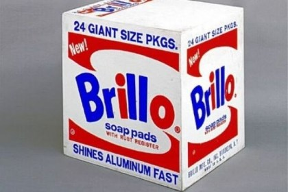 "Brillo ""Brillo Box"" by Andy Warhol (1964). Andy would have liked the app."