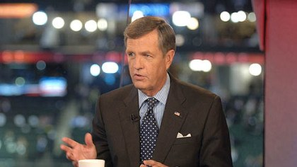 Brit Hume Brit Hume on the set of his program at the 2008 Republican National Convention.