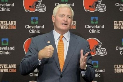browns owner jimmy haslam This Aug. 3, 2012 file photo shows Jimmy Haslam III during a news conference in Berea, Ohio.