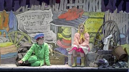 "'Brundibar' Chicago Opera Theater staged ""Brundibar"" using costumes and a set by Maurice Sendak."