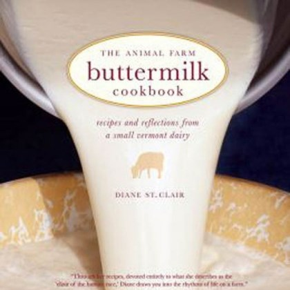 "Buttermilk Cookbook The forthcoming ""The Animal Farm Buttermilk Cookbook."""