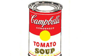 "'Campbell's Soup Can (Tomato)' ""Campbell's Soup Can (Tomato)."""