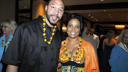 Charlie Batch and Latasha Wilson-Batch Charlie Batch and Latasha Wilson-Batch.