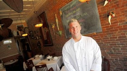 Chef Jonathan Vlasic Chef/owner Jonathan Vlasic keeps the menu evolving at his Alla Famiglia restaurant in Allentown.