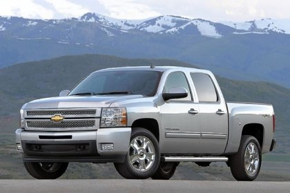 Chevy Silverado LTZ Crew Cab The 2013 Chevy Silverado LTZ Crew Cab. Chevrolet will redesign the Silverado for 2014, its first since 2007. Here's a last look at the old style, as a comparison and perhaps to inspire readers who shop for good deals on a leftover.
