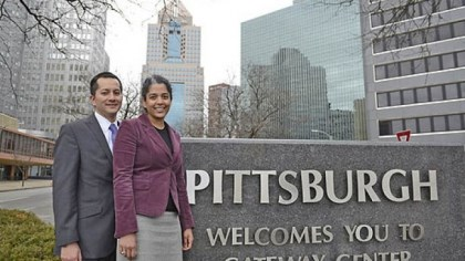 Chris Amar and Cheryl David Husband and wife Chris Amar and Cheryl David, both attorneys, moved to Pittsburgh in late January 2010 from Washington, D.C.