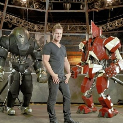 "Chris Jericho Chris Jericho hosts ""Robot Combat League"" on Syfy."