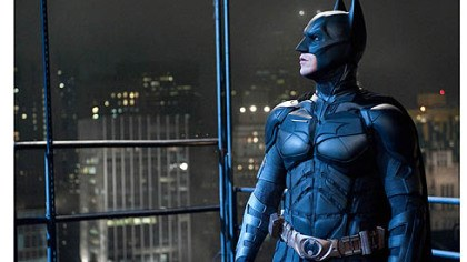 "Christian Bale as Batman Christian Bale as Batman in ""The Dark Knight Rises."" The movie opens in July."