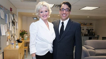Christine Ebersole and Ted Pappas Christine Ebersole and Ted Pappas.