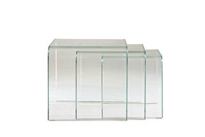 Claro nesting tables Claro nesting tables by Mitchell Gold Bob Williams available at Weisshouse.