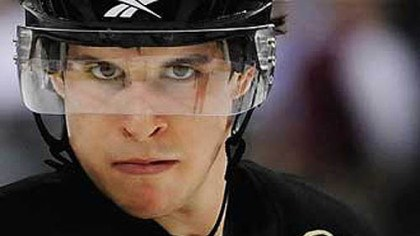 Cleared for contact Penguins' center Sidney Crosby has not played since December.
