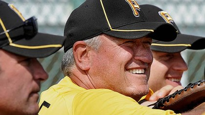 "Clint Hurdle Pirates manager Clint Hurdle: ""You become a slave to routines and, on the road, you can get into some bad ones."""