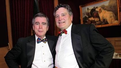 Cummerbund Society Paul Busang and Chuck Voelker.