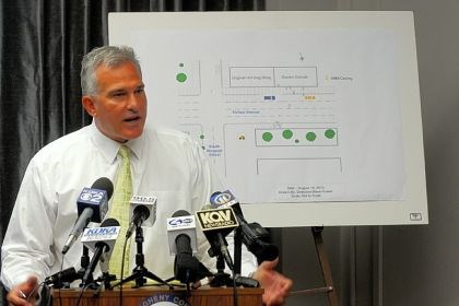 DA Stephen A. Zappala Jr. District Attorney Stephen A. Zappala Jr. at a news conference Monday morning. Mr. Zappala addressed the recent Oakland killing and the allegations of misconduct at the Whitaker police department.