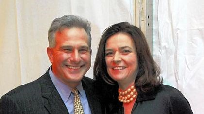 DA Stephen Zappala with Mary DA Stephen Zappala with Mary