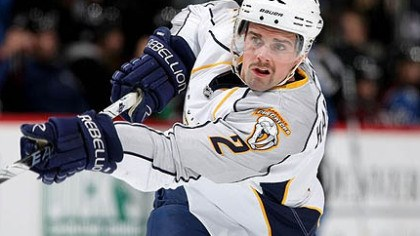 Dan Hamhuis Former Predators defenseman Dan Hamhuis signed with the Canucks yesterday.