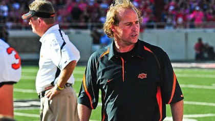 Dana Holgorsen Oklahoma State offensive coordinator Dana Holgorsen had been among the top candidates for Pitt's job but was confirmed he was not going to be considered for that position.