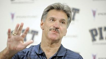 "Dave Wannstedt Pitt head coach Dave Wannstedt on being ranked: ""Our guys couldn't care less."""