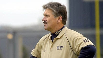 Dave Wannstedt Pitt coach Dave Wannstedt knows that the Panthers' game tomorrow against Navy means a lot to the program.