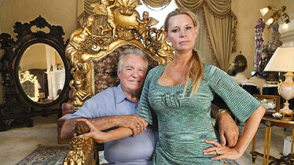 "David and Jackie Siegel David and Jackie Siegel in ""The Queen of Versailles."""