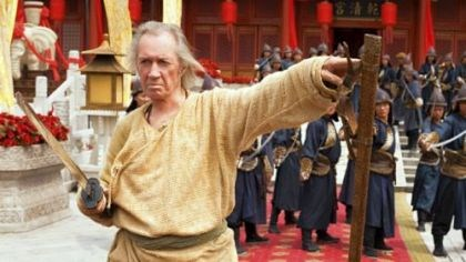 "David Carradine David Carradine stars in a Hallmark Movie Channel HD original ""Son of the Dragon"" at 8 p.m. Wednesday."
