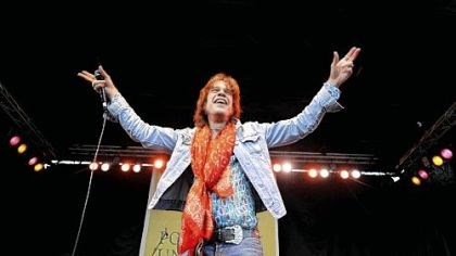 David Johansen David Johansen of The New York Dolls had a great time performing at the Three Rivers Arts Festival Sunday.