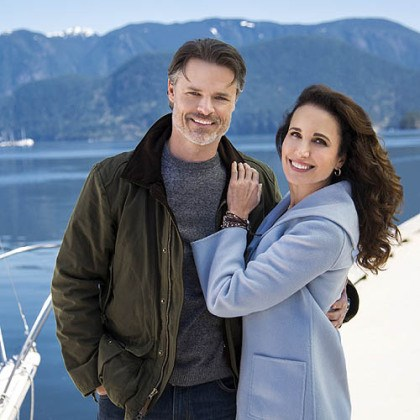 "'Debbie Macomber's Cedar Cove' Andie MacDowell stars as a judge and Jack Griffith is a newspaper editor in Hallmark Channel's new original series, ""Debbie Macomber's Cedar Cove."""