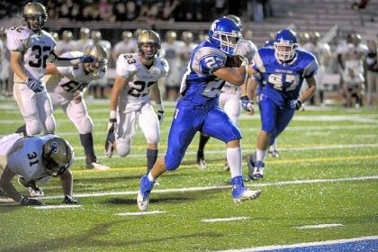 DeFloria Hempfield running back Joey DeFloria has gained 251 yards on 36 carries in two games this season.