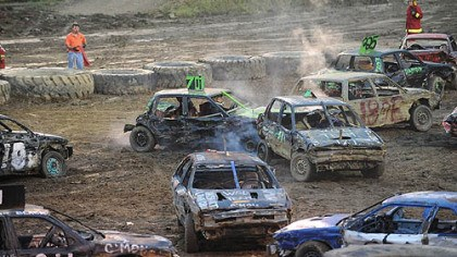 Demolition Derby Demolition Derby at the Westmoreland County Fair.