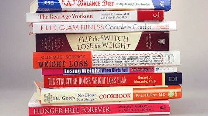 Diet books for 2008 These books are just a sampling of those that will be released early next year to help people with their dieting and workout New Year's resolutions.
