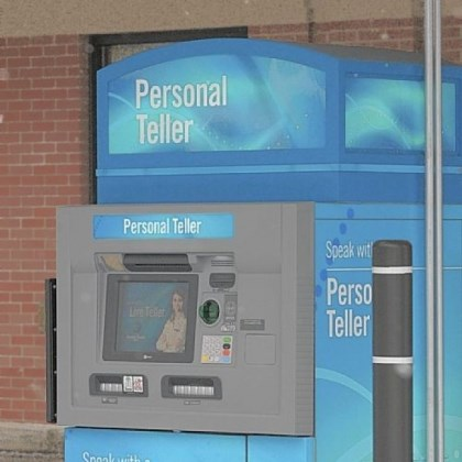 "Dollar Bank Dollar Bank has installed a ""personal teller machine"" in the Virginia Manor shopping center in Mt. Lebanon."