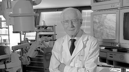 Donald Fisher At 92, Donald Fisher may be the oldest and longest practicing cardiologist in the United States.