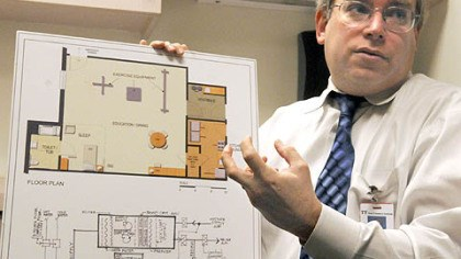 Dr. Scott Faber Dr. Scott Faber talks about the plan for an environmental pediatric room at the Children's Institute in Squirrel Hill.