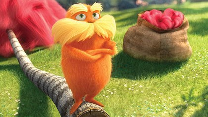 "'Dr. Seuss' The Lorax' Danny DeVito voices the title character of ""Dr. Seuss' The Lorax."""