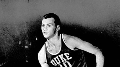 Duke's Dick Groat 1952 college player of the year, Duke's Dick Groat.