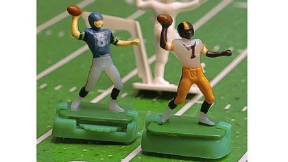 Electric Football Norman Sas, the creator of these Electric Football toys, died June 28. He was 87.