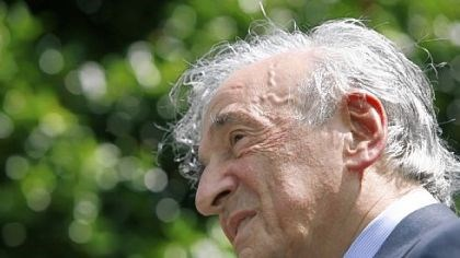 "Elie Wiesel Author and Nobel Peace Prize laureate Elie Wiesel -- ""All the time I worry I have not done enough."""