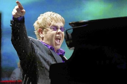 Elton John ailing Elton John -- Facing surgery in near future.