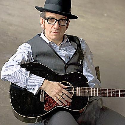 "Elvis Costello Elvis Costello teams with The Roots for his latest, ""Wise Up Ghost."""